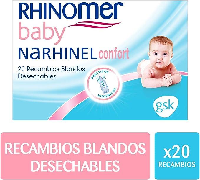 Rhinomer Baby - Recambios blandos desechables para Narhinel ...