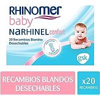 Rhinomer Baby - Recambios blandos desechables para Narhinel
