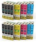 First Call Inks Ink Cartridges–Compatible with Epson Stylus Printers, 420, SX425435W, SX440W, SXW, SX, SX445W, SX525WD, SX535WD, SX620FW and Epson Stylus Office B42WD, BXF, BX305FW, BX305320FW, BX525WD, BX535WD, BX625FWD, BX635FWD, BX925FWD, BX935FWD 20