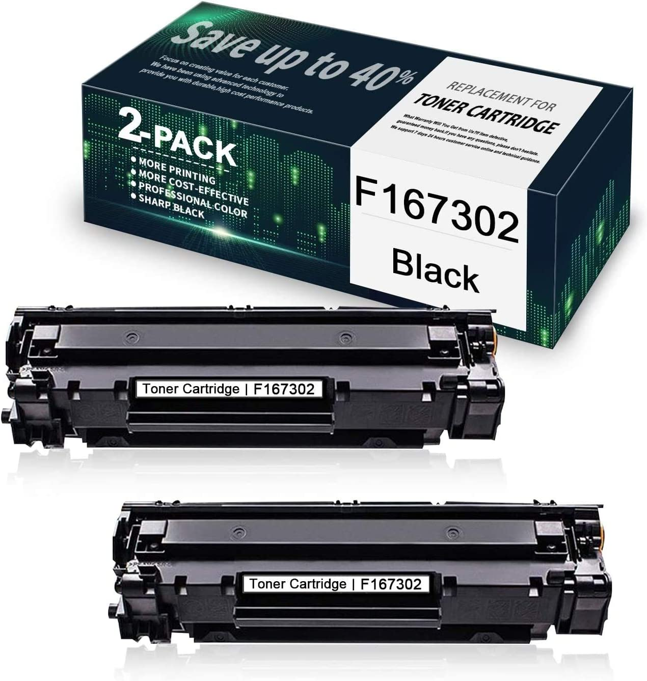 5 Pack MAXink Compatible F167300 Toner Cartridge Replacement for Canon F167300 Printer Toner Cartridge