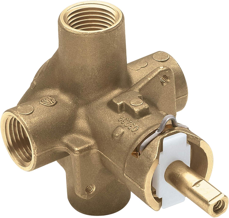 Moen 2510 Brass Posi Temp Pressure Balancing Tub and Shower Valve