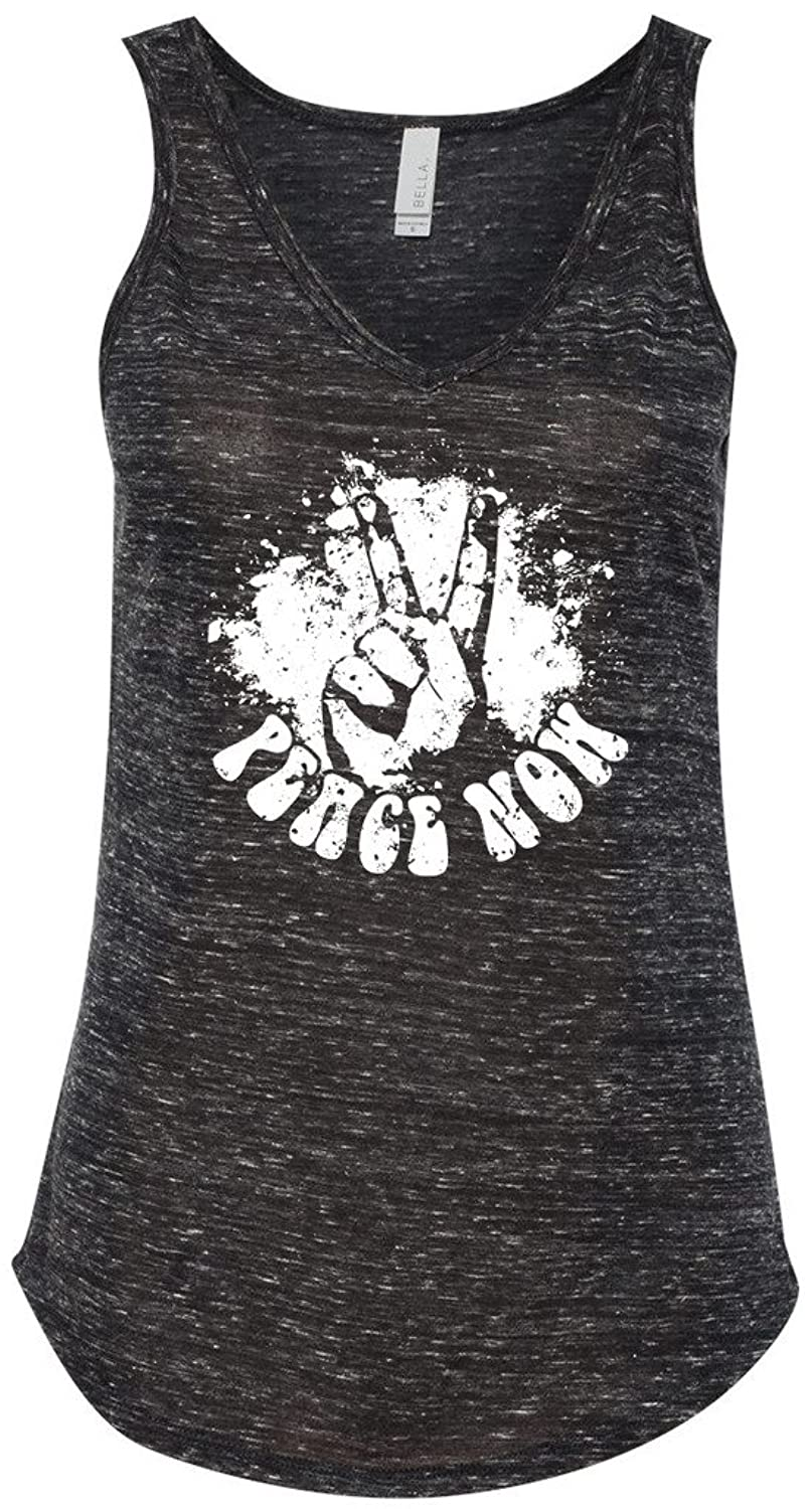 Yoga Clothing For You Ladies Peace Now Flowy Tank Top