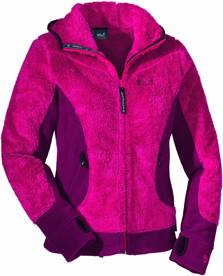 Jack Wolfskin KODIAK JACKET W Damen Fleece Jacke orchid