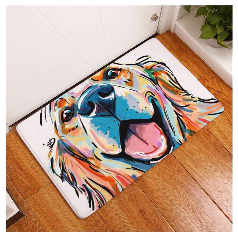 Amazon.com: makaor Felpudo, alfombra de baño, dibujos ...