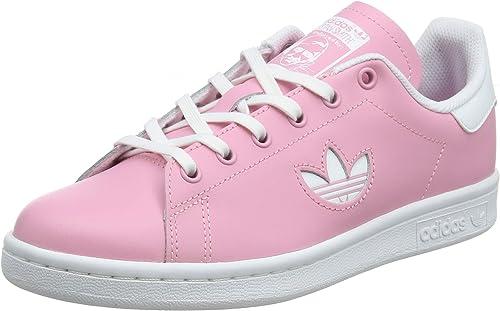 adidas Stan Smith J CG6670 Chaussures de Gymnastique Mixte Enfant Rose (Light PinkFtwr WhiteFtwr White Light PinkFtwr WhiteFtwr White) 36 EU