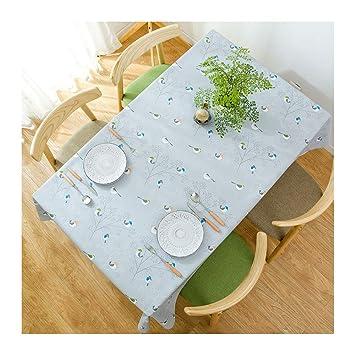 Mantel impermeable de dibujos animados Mantel antimanchas Tapete de mesa servilletas de tela lavable Estera de mesa resistente al calor anti-escaldado para ...