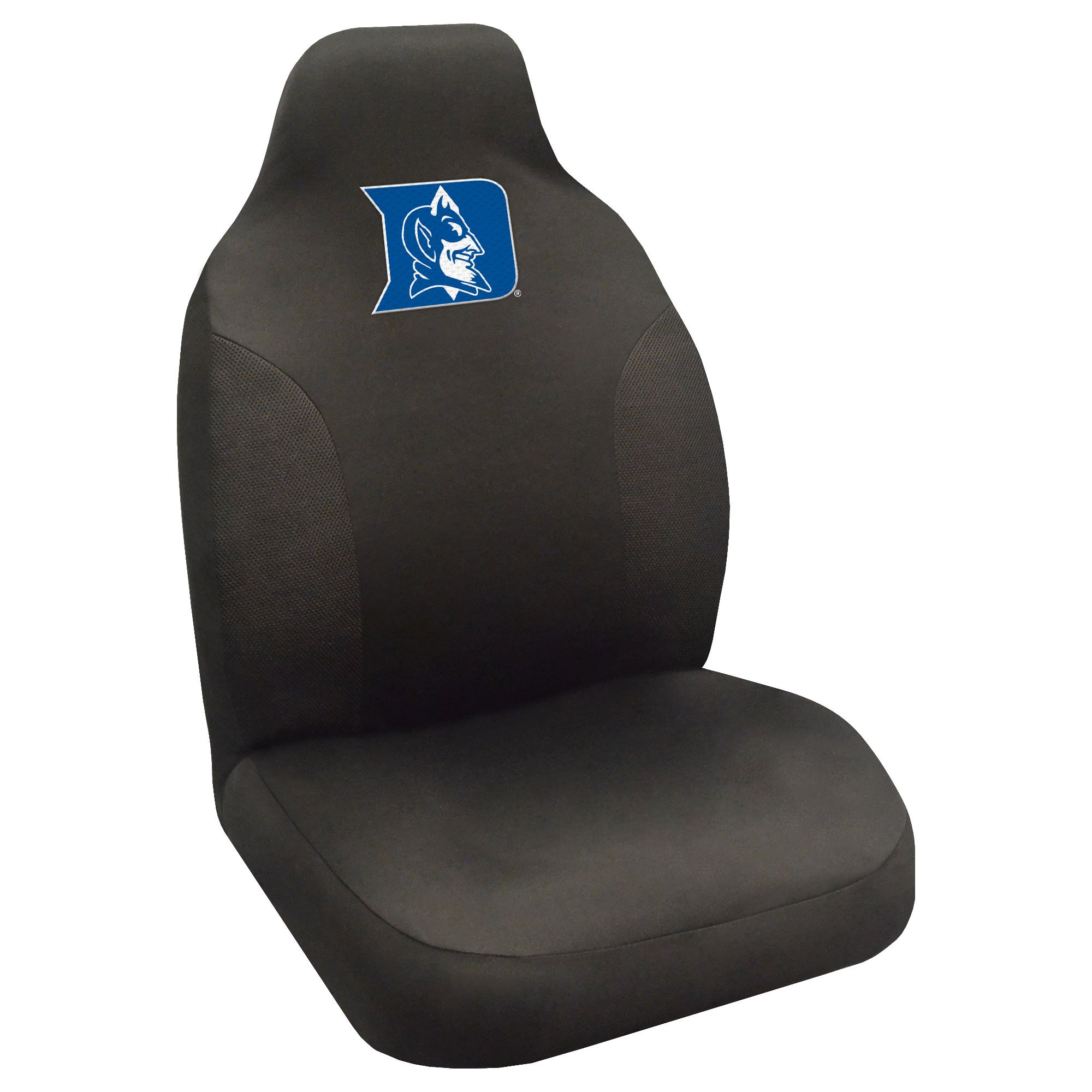 FANMATS NCAA Duke University Blue Devils Polyester Seat Cover by Fanmats