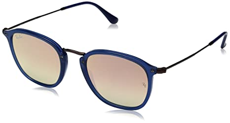 fb4130e45ae Image Unavailable. Image not available for. Colour  Ray-Ban Mirrored Square  Unisex Sunglasses ...