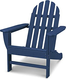 product image for POLYWOOD AD4030NV Classic Adirondack Chair, Navy