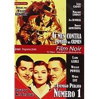 Programa Doble - Film Noir G Men - Manhattan Melodrama (G Men Contra El Imperio Del Crimen + El Enemigo Público Número 1) [DVD]