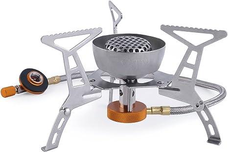 OUTAD Estufa Plegable que Acampa/Cocina de Acero a Prueba de ...