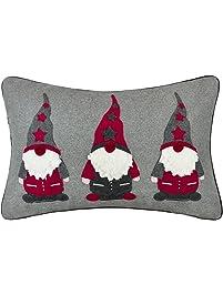jw christmas santa claus accent pillow cases