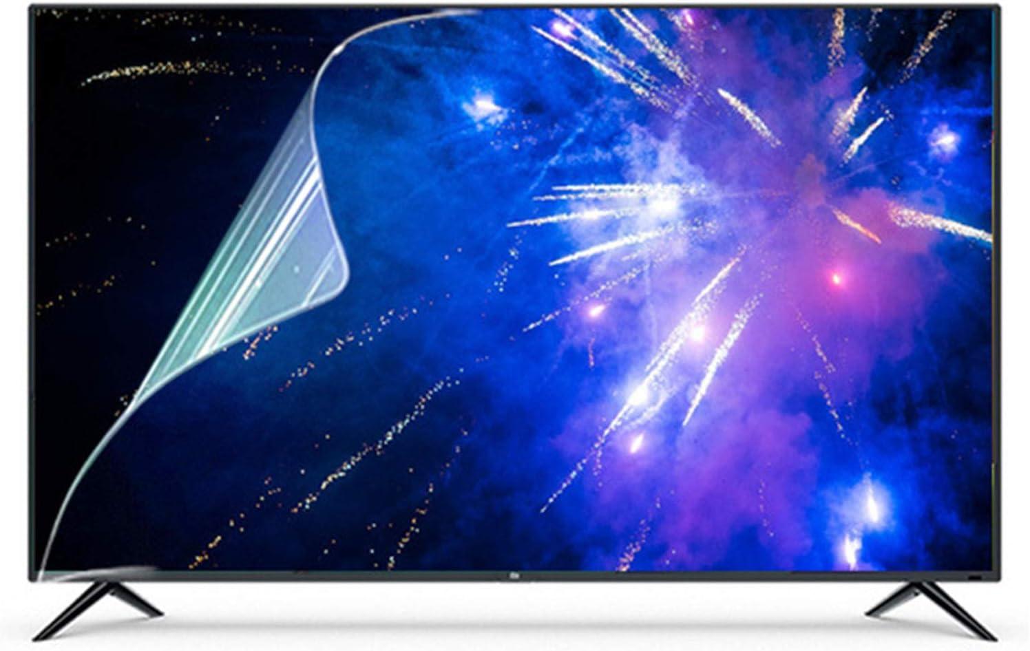 TV De 50 Pulgadas Protector De La Pantalla, Helado Antideslumbrante / A Prueba De Polvo Filtro Anti Azul Claro / Cine, Proteja Sus Ojos Para SHARP, Sony, Samsung, Hisense, LG Etc - 50Inch(1100*620mm)