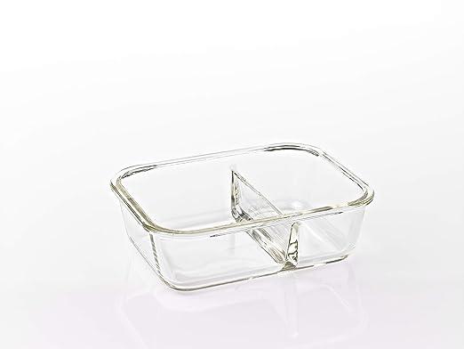 LOCK & LOCK Boroseal Recipiente de Cristal para Comida - Set de 2 ...