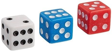 48 Dispensador de dados Juego Paquete de accesorios para el casino Paquete a granel, Rojo