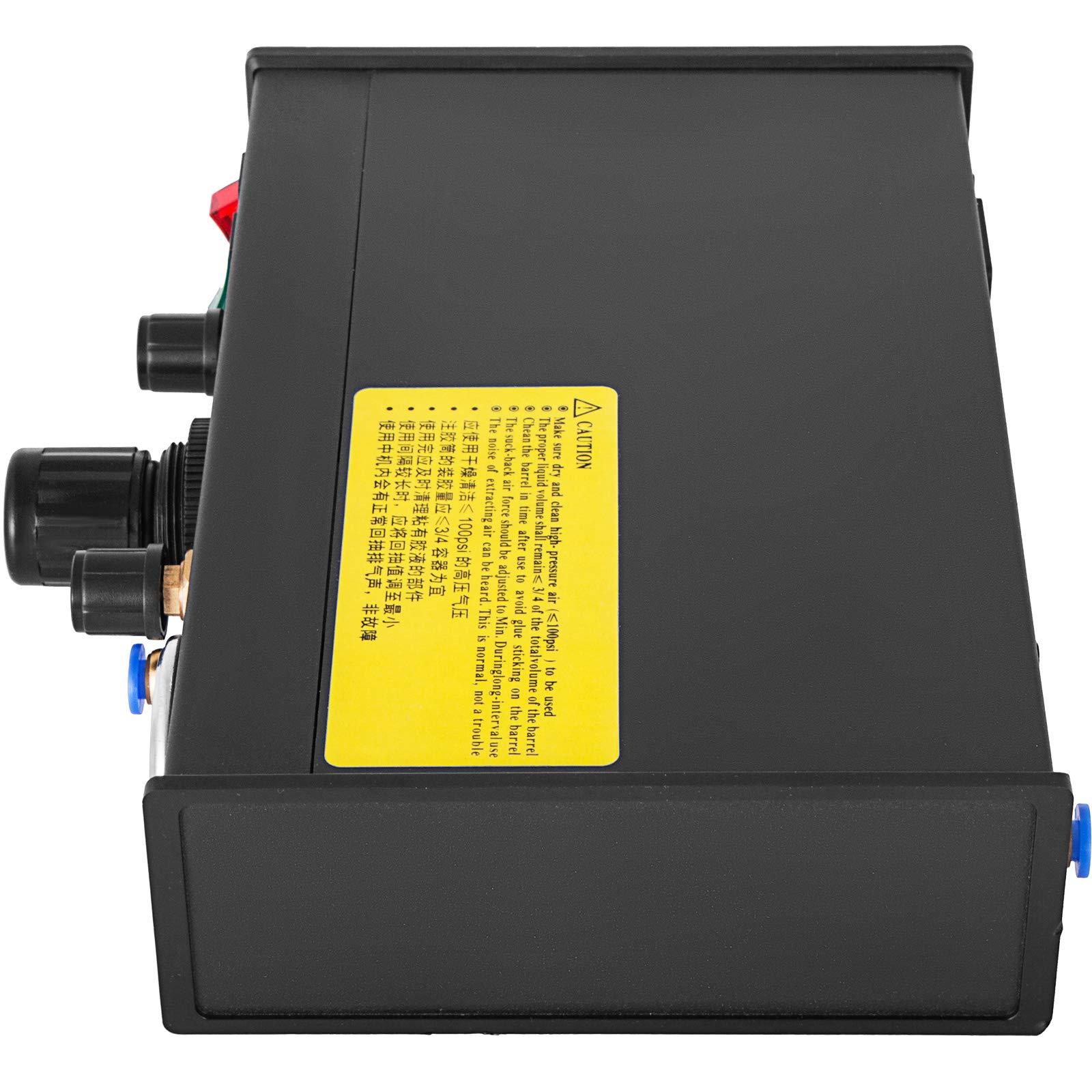 VEVOR Auto Glue Dispenser Dual Controller 24V DC Solder Paste Glue Dropper 982A Digital Display Solder Paste Liquid Controller Dropper Machine by VEVOR (Image #5)