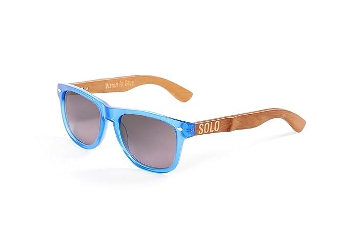 Solo gafas - hecho a mano y Repurposed bambú gafas de sol ...