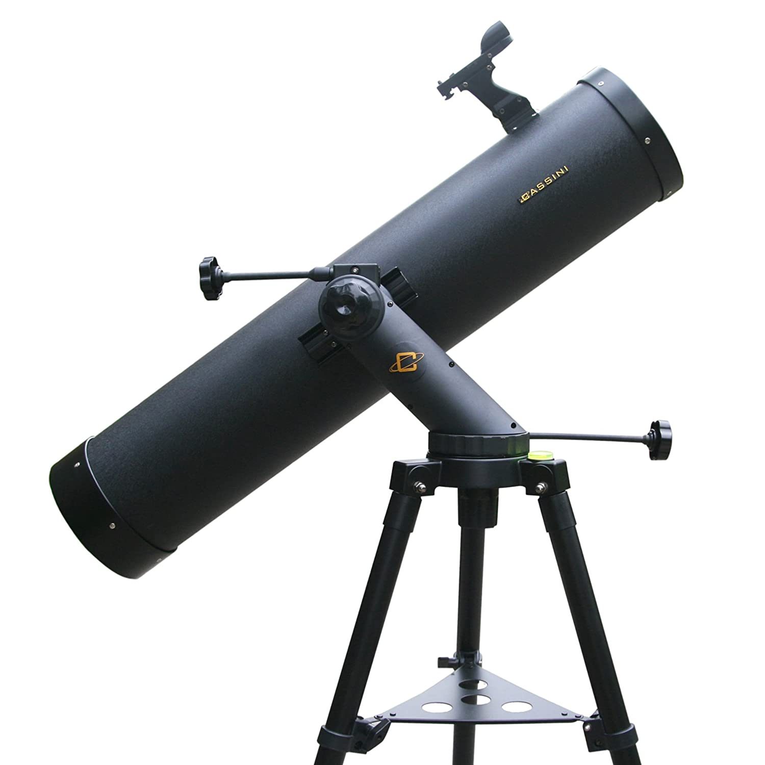 Cassini 900mm x 135mm Reflector Telescope with Color Filter Wheel