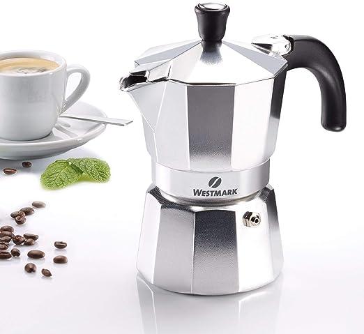 Westmark 24602260 Brasilia - Cafetera italiana (3 tazas, aluminio): Amazon.es: Hogar