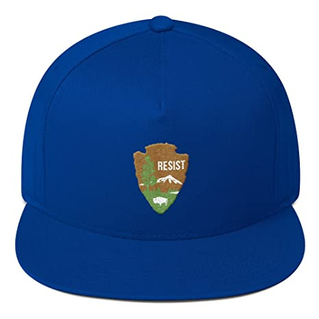 National Parks Service Resist Flat Bill Cap at Amazon Men s Clothing store  8c74e3958b6f