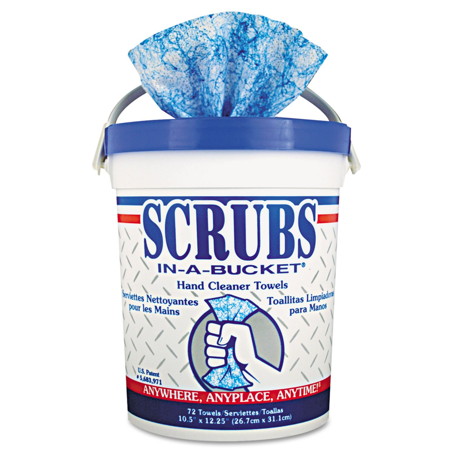 ITW42272CT - Scrubs in-A-Bucket Hand Cleaner Towels