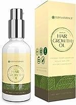 Natural Hair Growth Oil with Caffeine and Biotin - Hair Growth