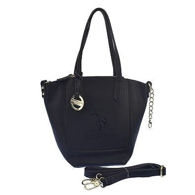 Handtasche, breite Griffe, mit Schulterriemen 15-32x9x25 cm U.S.Polo Association
