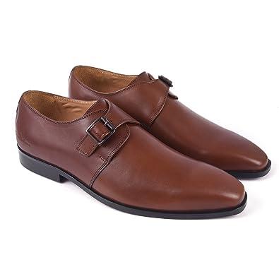 Amazon.com: Classe italiana Angelo Casual zapatos, Marrón: Shoes