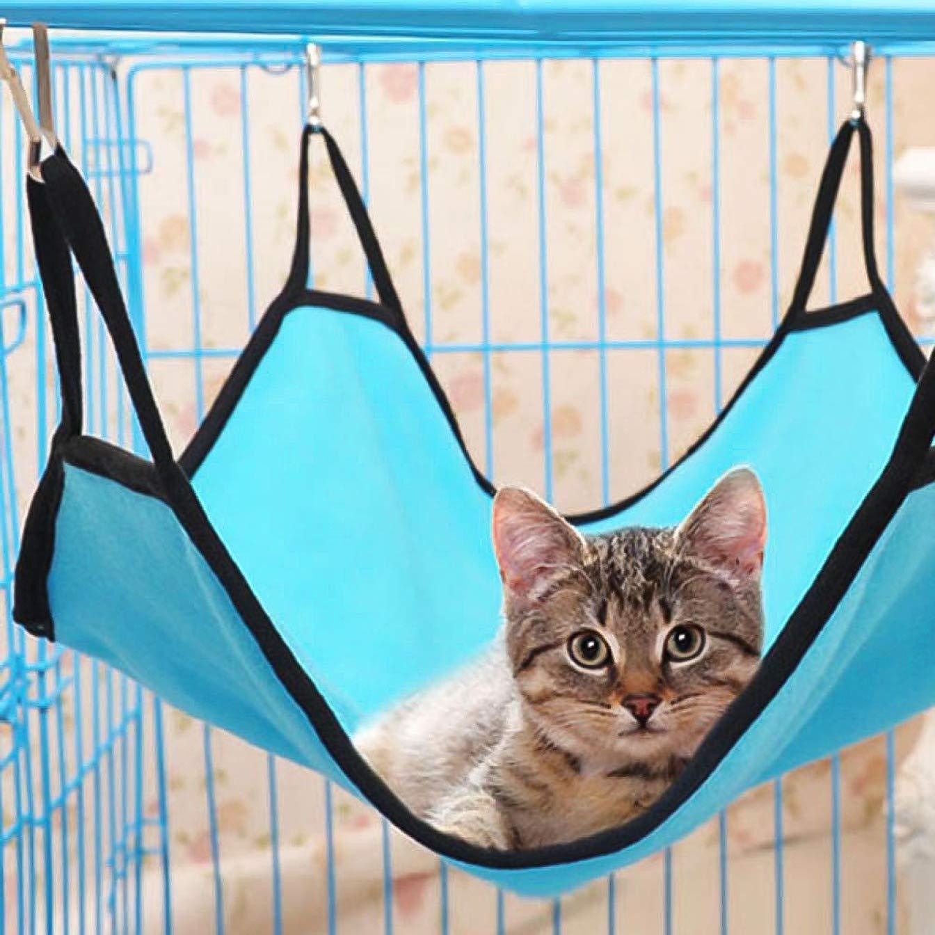Wanda Johnny Housse de lit pour Animal Domestique Rat Lapin Furet Chinchilla Chat Chien Animal Hamac