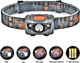 HEAD TORCH LED HEADLAMP HEADLIGHT RECHARGEABLE USB UK WATERPROOF OUTDOOR CAMPING