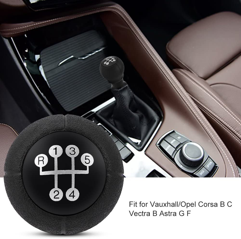 5 Speed Gear Shifter Knob Stick Head Lever Handle for Vauxhall//Opel Corsa B C Vectra B Astra G F