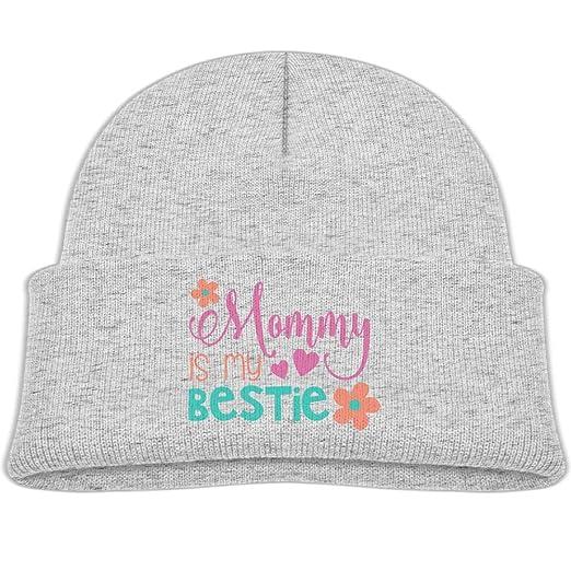 fa9a18c1 Amazon.com: Kocvbng I Mommy is My Bestie Beanie Cap Skull Hat Baby ...
