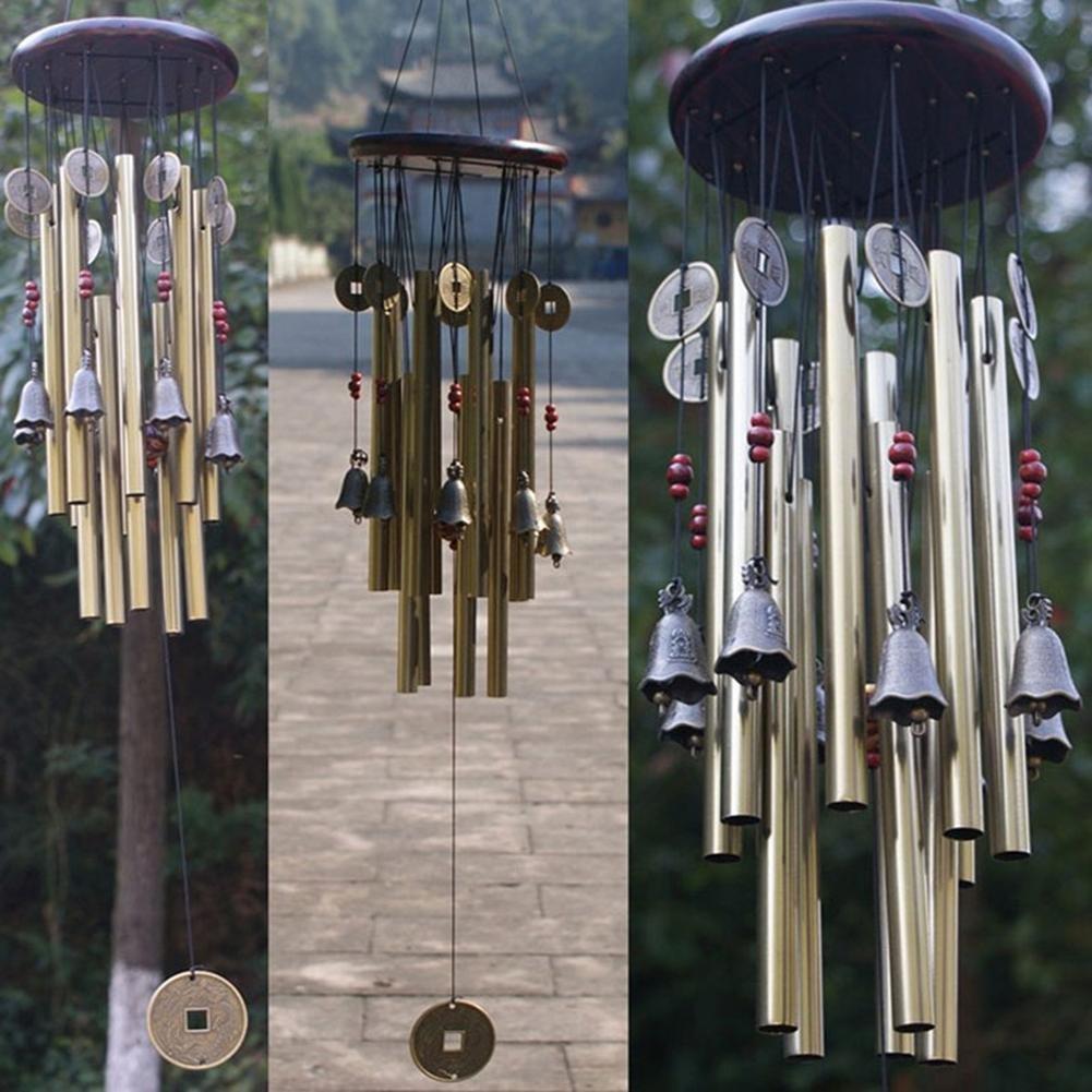 calistouk 13pcsTube TL-192 Wind Chimes Musik Kollektion Haus Garden Outdoor Admiralität Dekoration