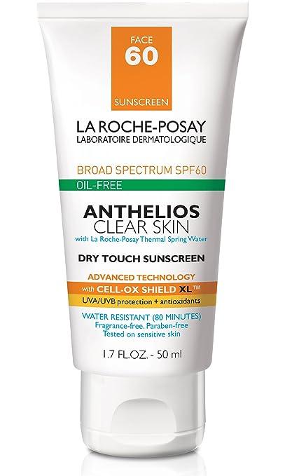 La Roche-Posay Anthelios Clear Skin Sunscreen SPF 60, 1.7 Fl. Oz.