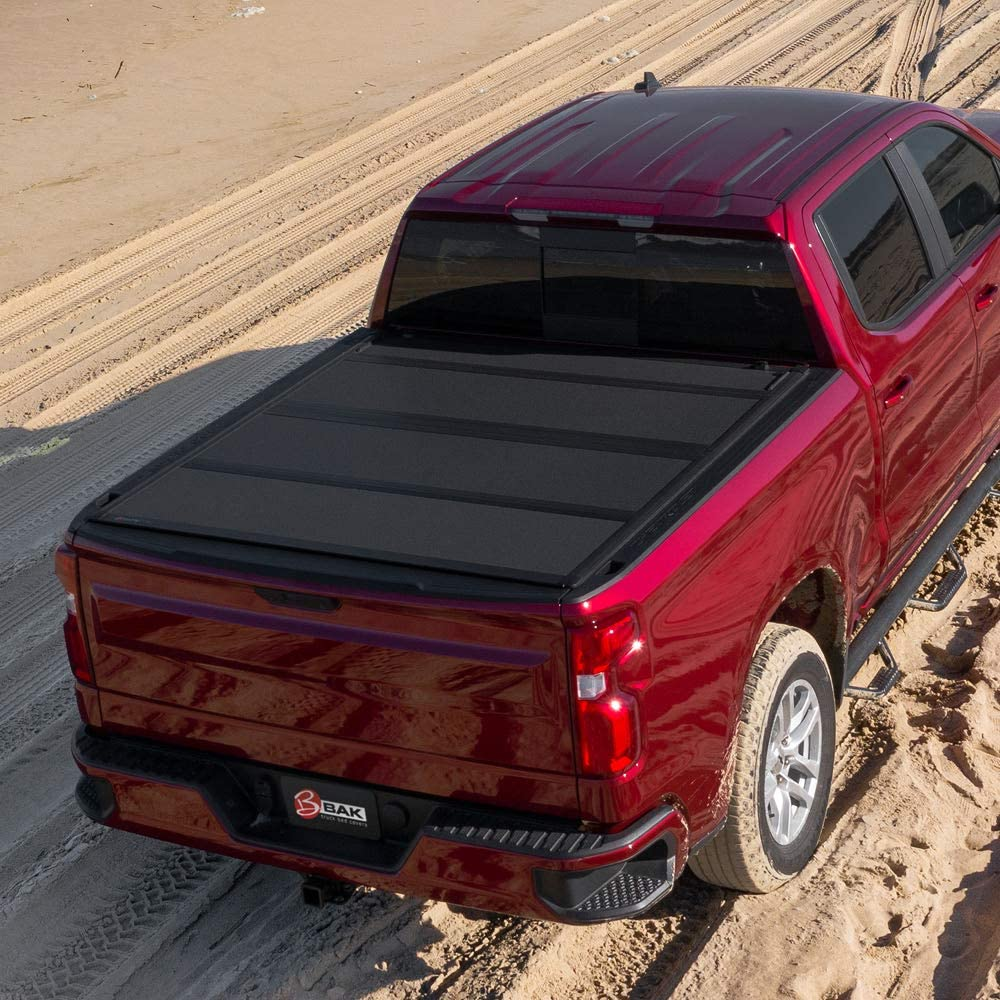 Best Tonneau Covers For Ford F150, BAK BAKFlip MX4 Hard Folding Truck Bed Tonneau Cover