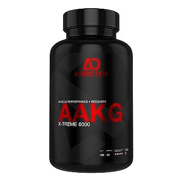 Aakg X Treme 6000 Von Addicted Hochdosierte 1200 Mg L Arginin