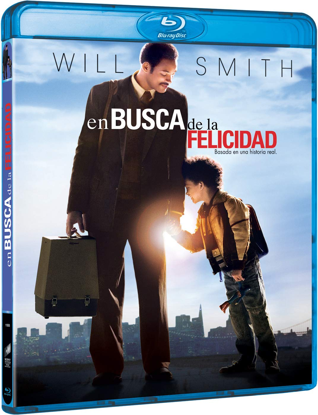 En Busca De La Felicidad Blu Ray Amazon Es Will Smith Thandie Newton Jaden Smith Gabriele Muccino Will Smith Thandie Newton Columbia Pictures Corporation Overbrook Entertainment Escape Artists Cine Y Series Tv