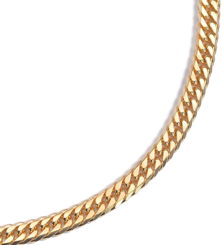 K18 18金 喜平 ネックレス 6面ダブル 10g 50cm 造幣局検定マーク入り ユニセックス チェーン