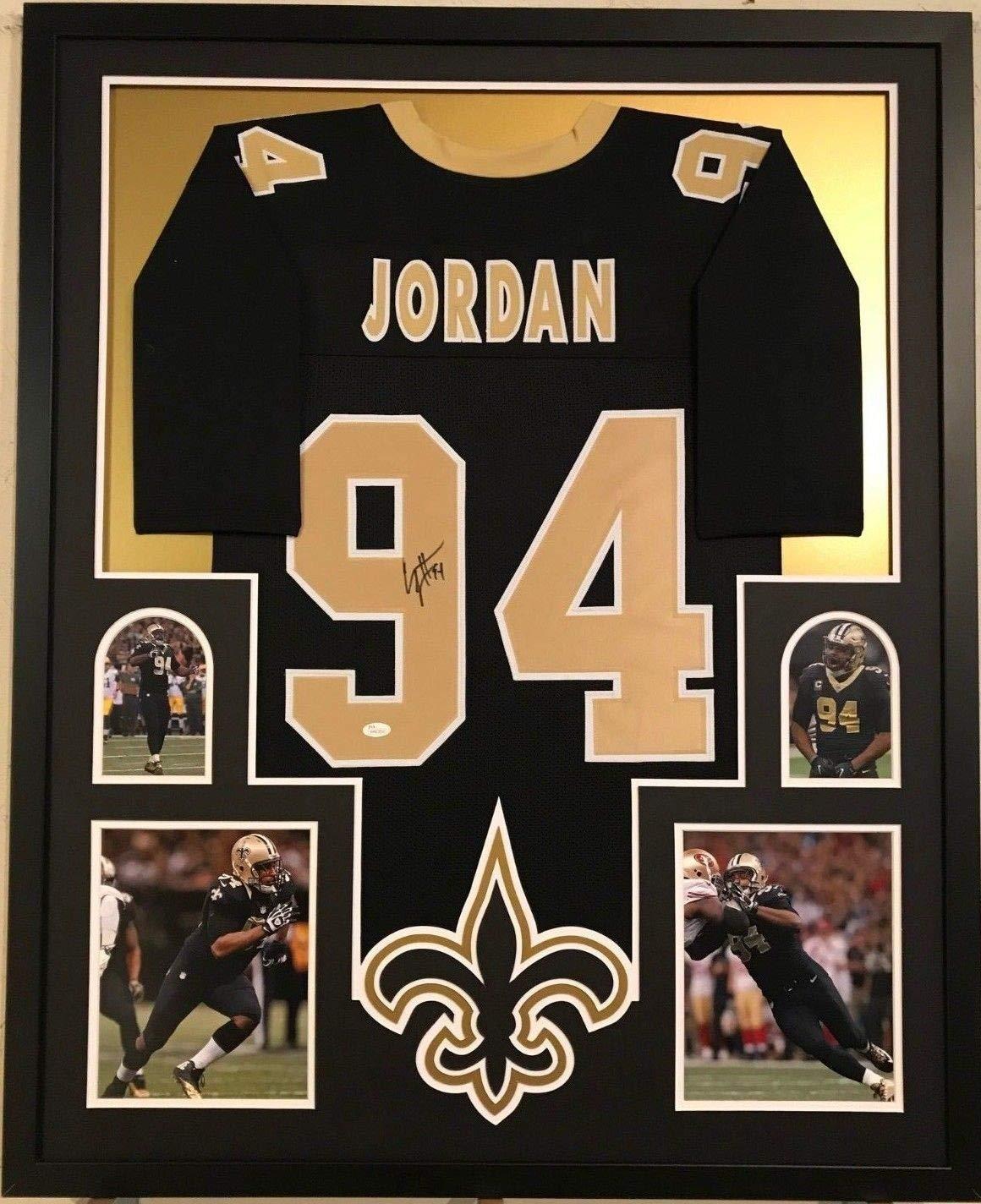af2fe5af Framed Cameron Jordan Autographed Signed New Orleans Saints Jersey ...
