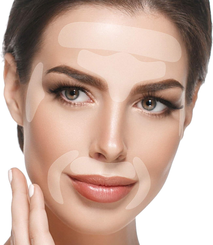 Blumbody Parches Faciales Antiarrugas - 165 Parches para la Reducción de Arrugas del Entrecejo