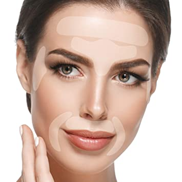 Amazon Com Blumbody Wrinkle Patches For Face Facial Anti Wrinkle Smoothing Treatment For Smoothing Eye Mouth Or Frown Wrinkles 165 Reusable Face Patches Beauty