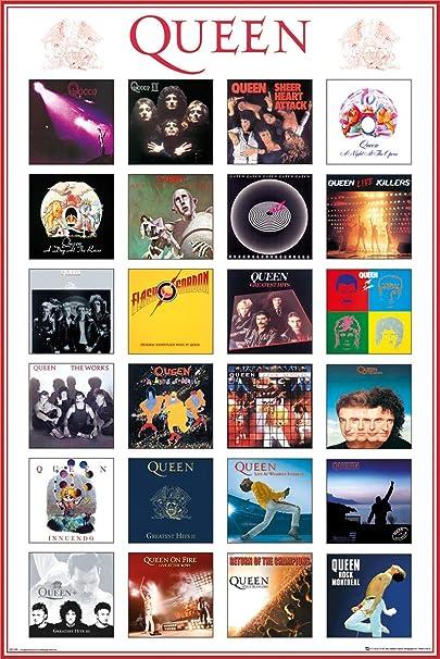 Queen Album Covers Maxi Poster 61 x 91,5 cm