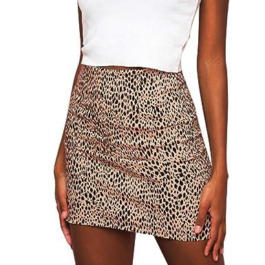 Falda Leopardo Mujer Invierno Sexy, Leopardo de Las Mujeres ...