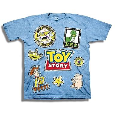 Amazon Com Disney Pixar Toy Story Shirt Buzz Lightyear And