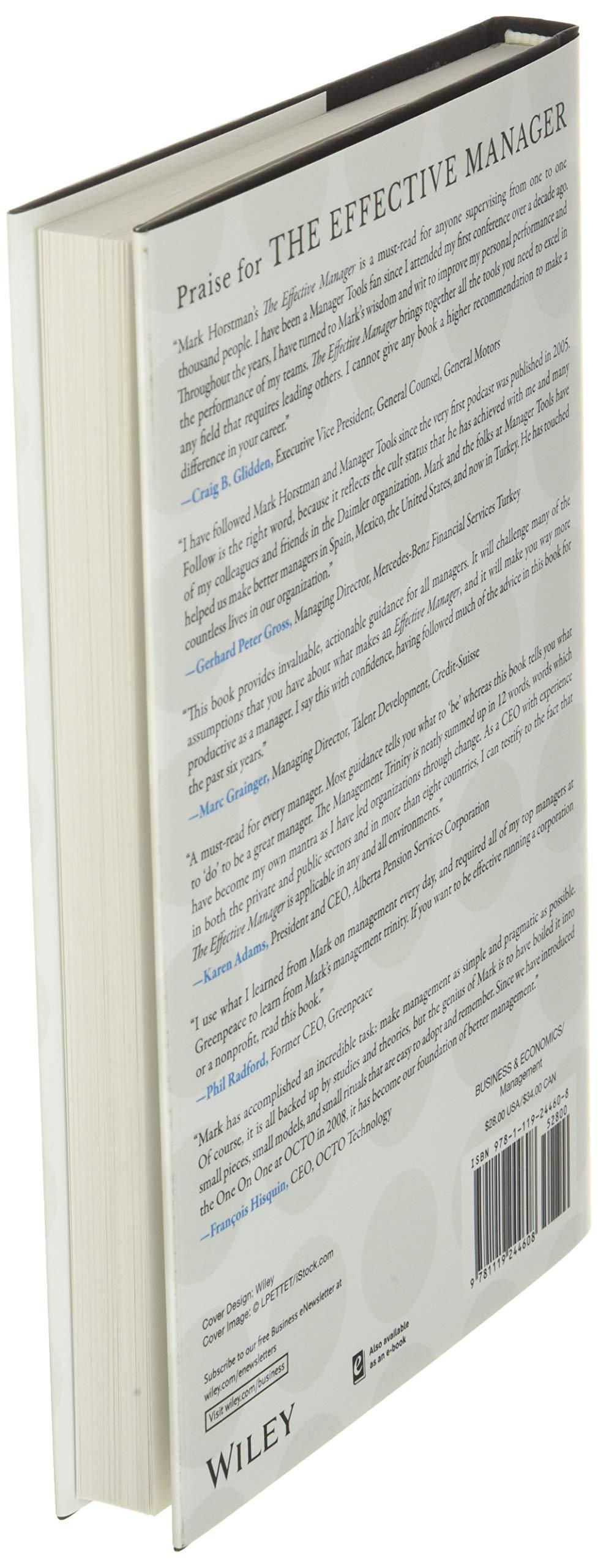 The Effective Manager: Amazon.es: Horstman, Mark: Libros en ...