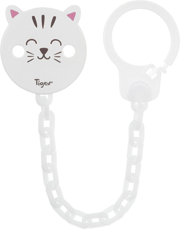 Tigex – Cinta Atachupete Soft Touch Gato Blanco: Amazon.es: Bebé