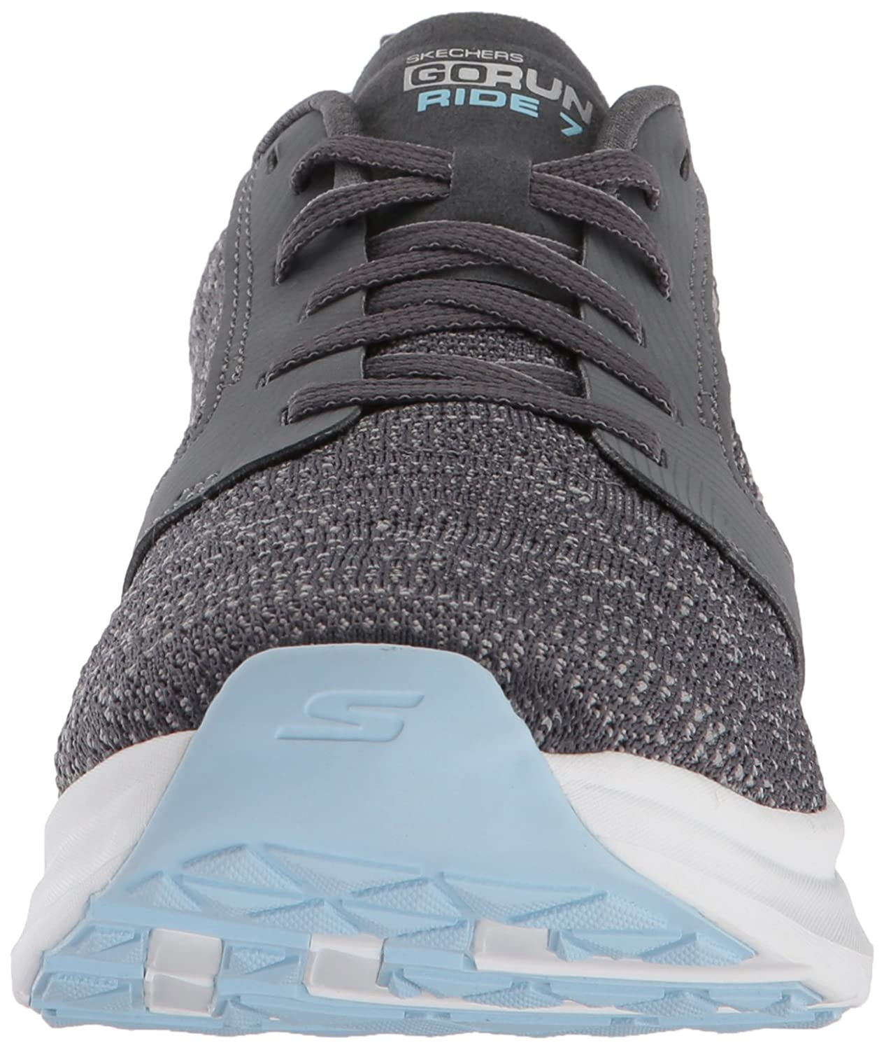 Skechers Performance Damen Go Run Ride schwarz 7 Hallenschuhe, schwarz Ride Grau (Charcoal/Blau) 2455ec