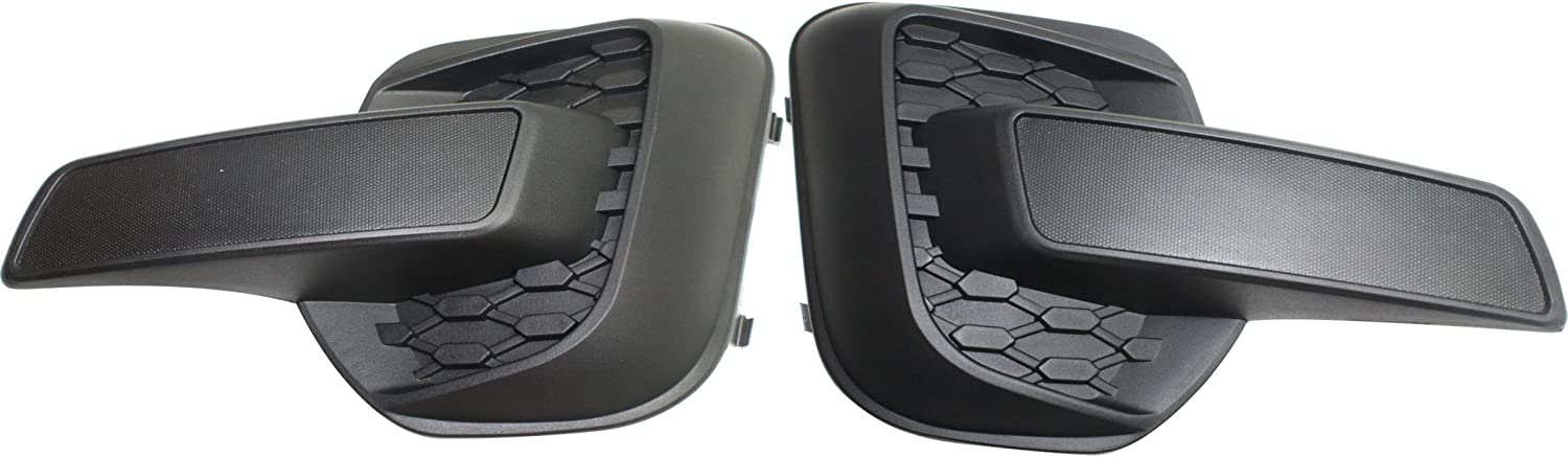 Right Passenger Side Fog Light Cover For 2010-2015 Chevy Equinox 2011 S886GY