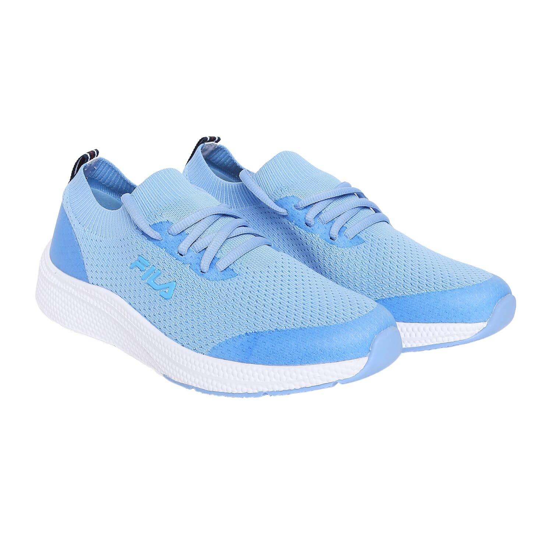 Fila Women's VTA BLU/WHT Running Shoe (11008435)-4 UK