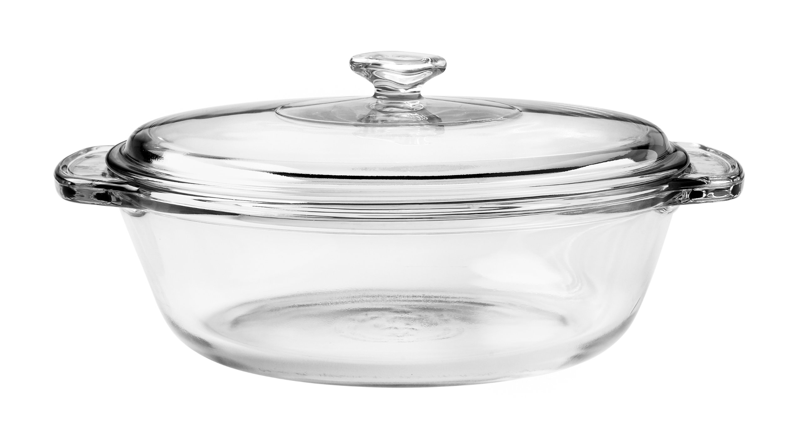 Anchor Hocking 77890 Fire-King Casserole Baking Dish with Lid, Glass, 1.5-Quart by Anchor Hocking (Image #1)